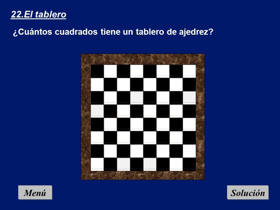 Menú Solución1 32.Problema que arde (2): En la plantilla de tres en raya adjunta hay que cambiar (no eliminar) cuatro cerillas y formar tres cuadrados idénticos.