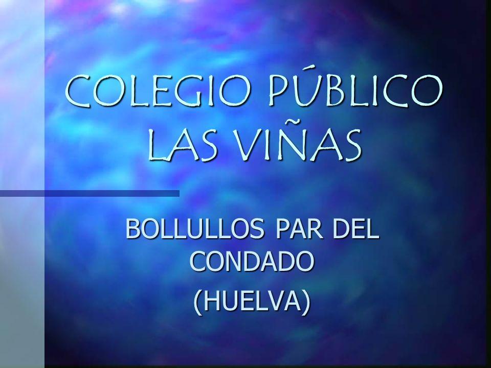 COLEGIO PÚBLICO LAS VIÑAS BOLLULLOS PAR DEL CONDADO (HUELVA)