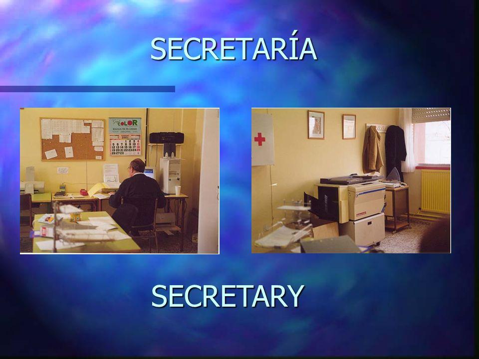 SECRETARÍA SECRETARY