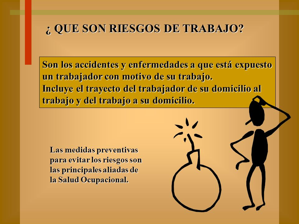 CLASIFICACION DE CONDICION SUBESTANDAR 1 ) DEFECTOS DE LOS AGENTES 2 ) PELIGROS DE INDUMENTARIA Y VESTIDO 3 ) PELIGROS DEL MEDIO AMBIENTE 4 ) METODOS O PROCEDIMIENTOS PELIGROSOS 5 ) PELIGROS POR LA COLOCACION 6 ) PROTEGIDO INADECUADAMENTE 7 ) PELIGROS AMBIENTALES DE TRABAJO A INTEMPERIE 8 ) PELIGROS EN VIA PUBLICA 9 ) SIN CLASIFICAR POR INFORMACION INSUFICIENTE 10 ) CONDICION INSEGURA INESPECIFICA 11 ) SIN CONDICION INSEGURA