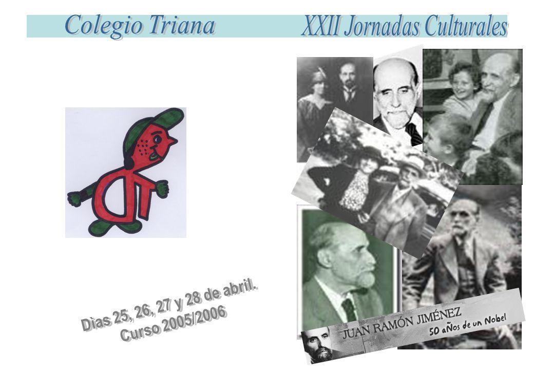 Primer Ciclo Segundo Ciclo Primero y Segundo Martes Biografía y obra de Juan Ramón Jiménez.