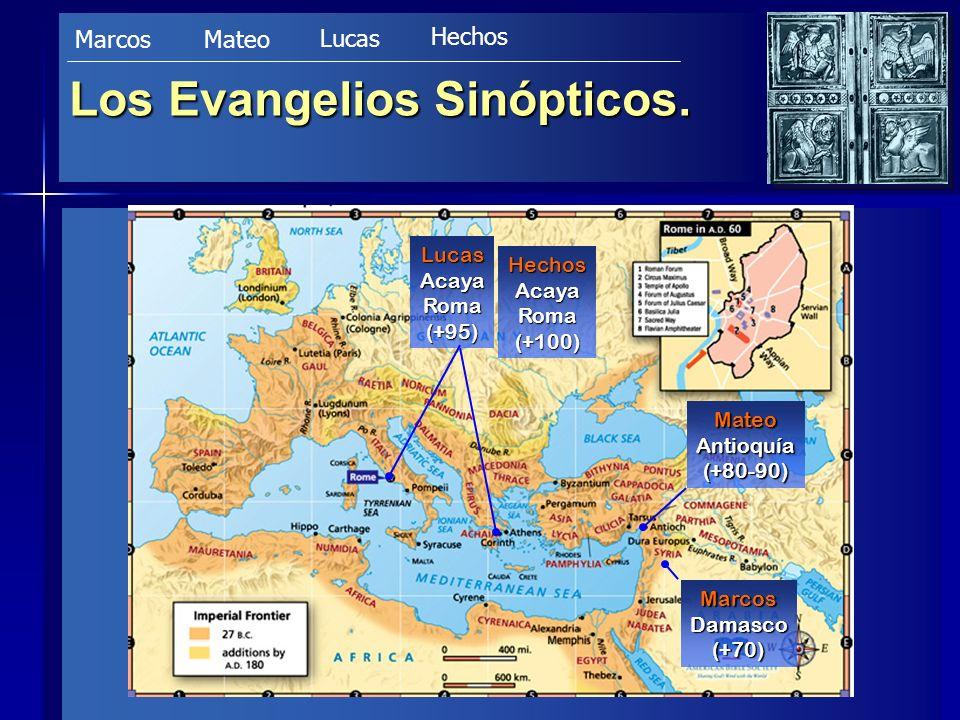 Evangelio según San Marcos Autor Autor –Es al que se refieren los Hechos como Juan Marcos (12,12.25; 15,37).