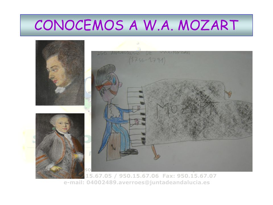 CONOCEMOS A W.A. MOZART