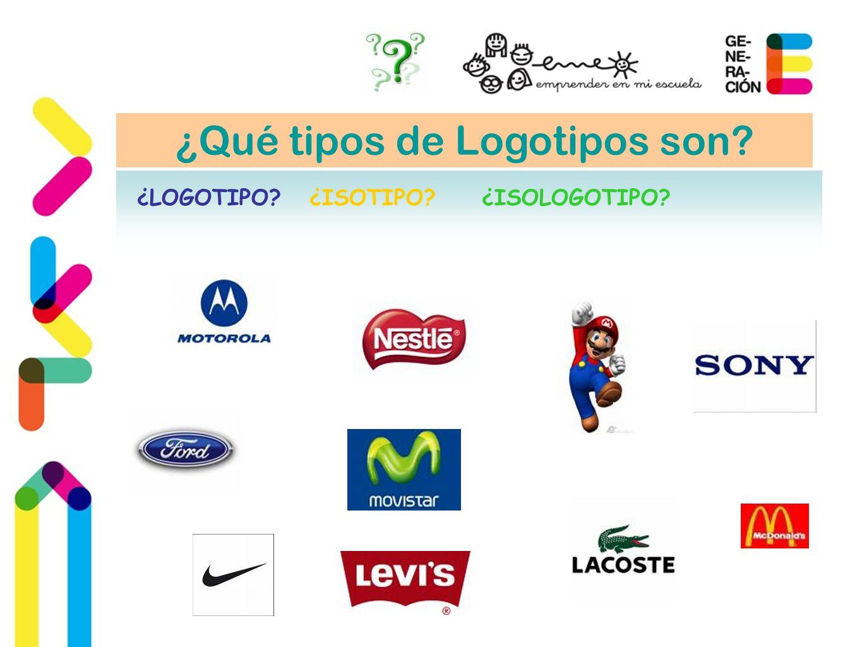 ¿Qué tipos de Logotipos son? ¿LOGOTIPO?¿ISOTIPO?¿ISOLOGOTIPO?