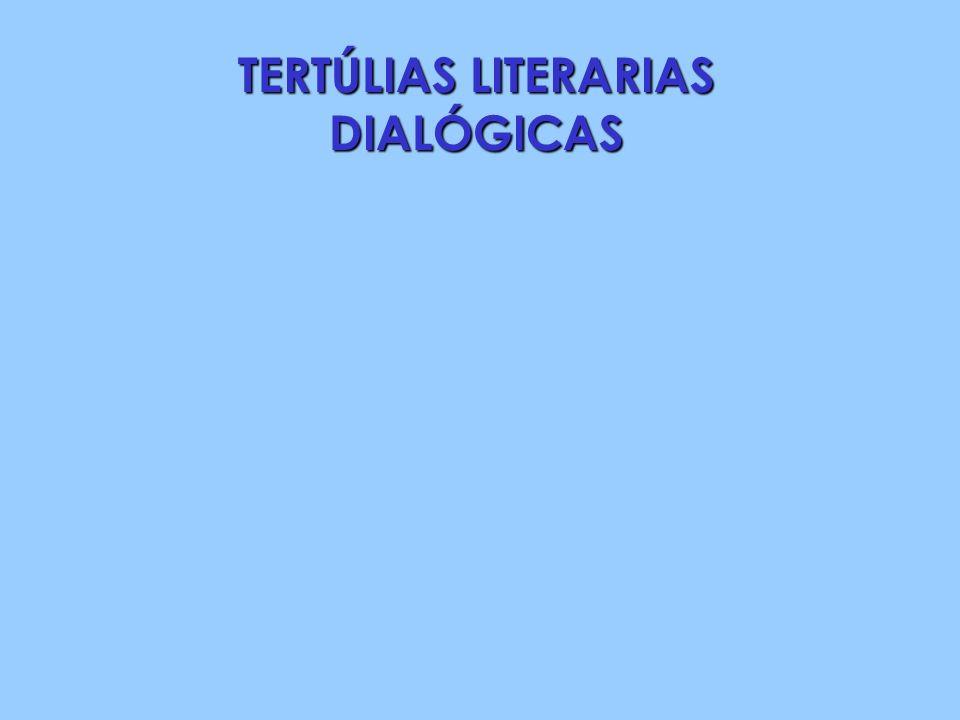 TERTÚLIAS LITERARIAS DIALÓGICAS