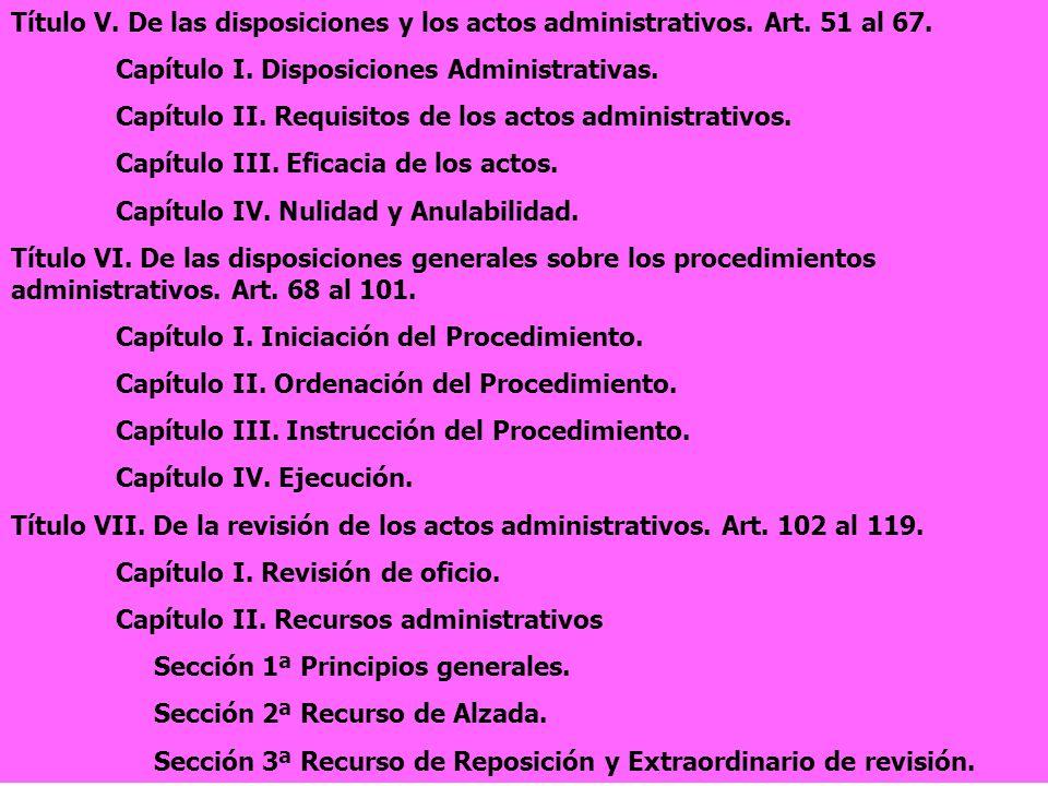 la ley 30 92 de regimen juridico de las administraciones: