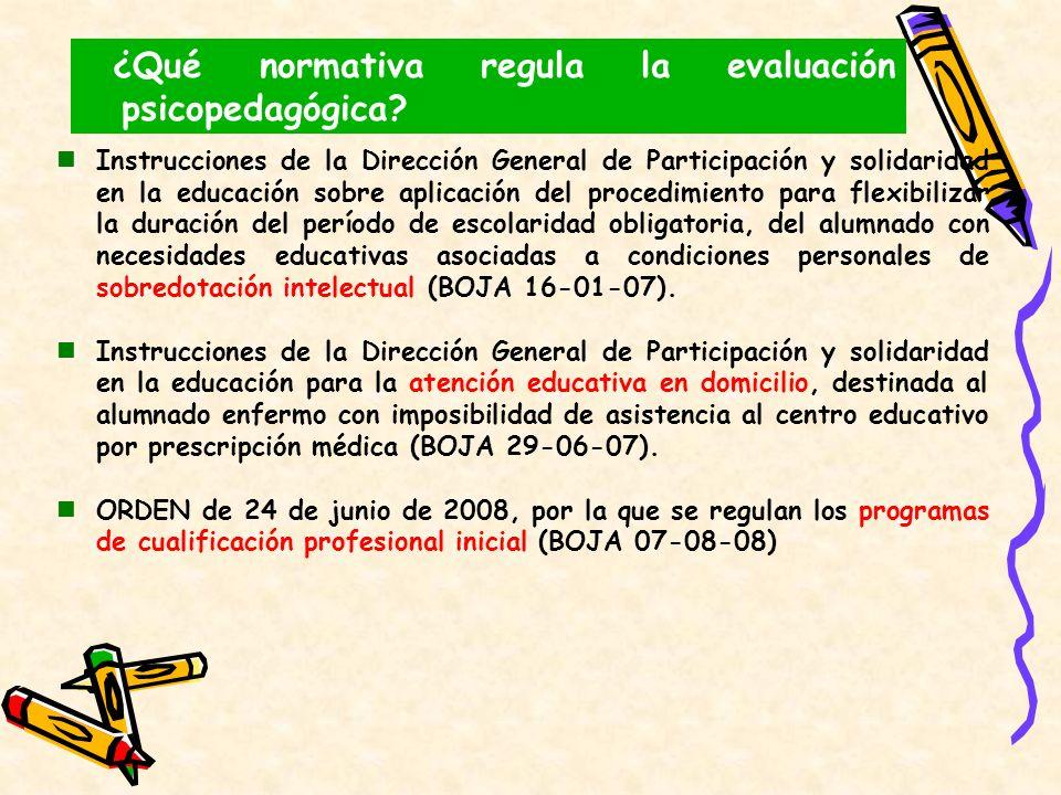 Instrucciones de la Dirección General de Participación y solidaridad en la educación sobre aplicación del procedimiento para flexibilizar la duración
