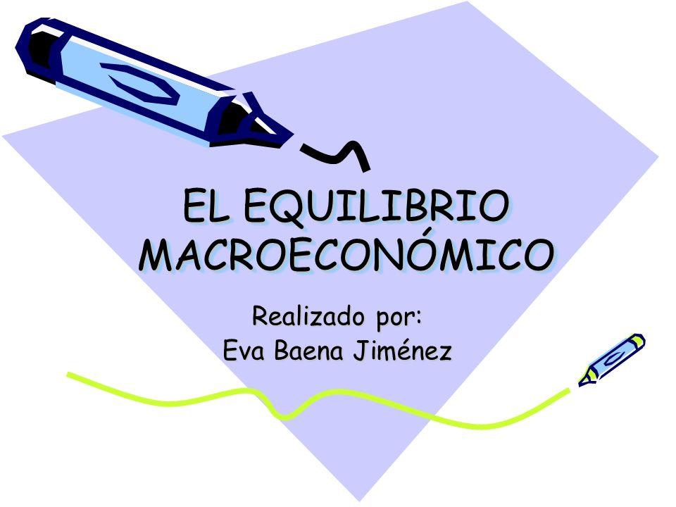 EL EQUILIBRIO MACROECONÓMICO Realizado por: Eva Baena Jiménez