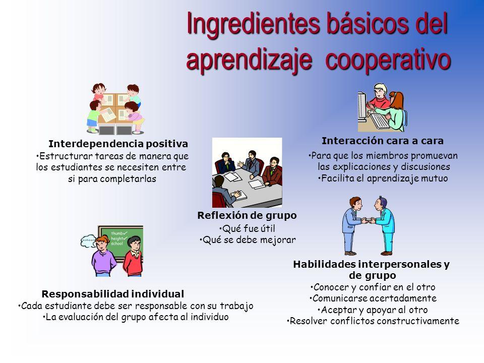 Uno es el desarrollo personal y social de los alumnos, que es útil para mantener el grupo Y el otro es el logro de aprendizaje de determinados conteni