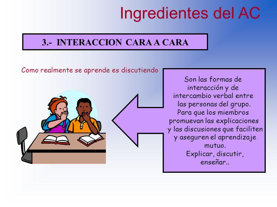 2.- RESPONSABILIDAD INDIVIDUAL Esta característica se refiere a la capacidad de dominar y ejecutar la parte del trabajo de la cual el estudiante se ha