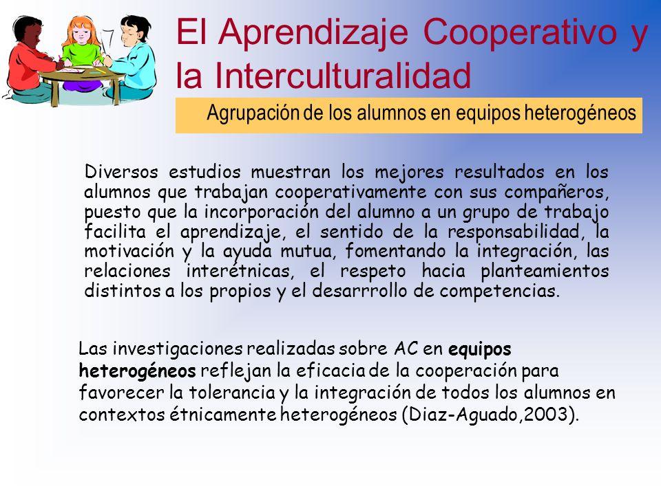 Beneficios del aprendizaje cooperativo Permite que el estudiante se involucre en su propio proceso de aprendizaje, lo cual, se traduce en mejor retenc