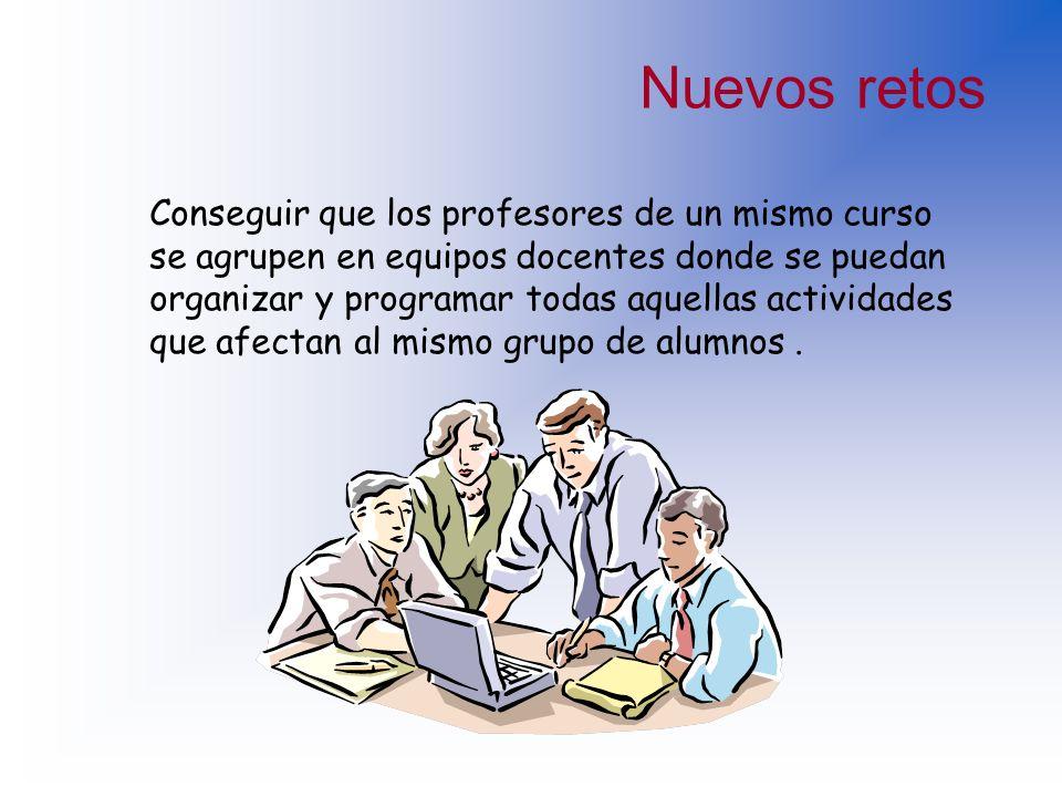 Críticas al trabajo del profesor La mayoría de los profesores trabajan de forma individual y aislada. Las asignaturas son consideradas por los estudia