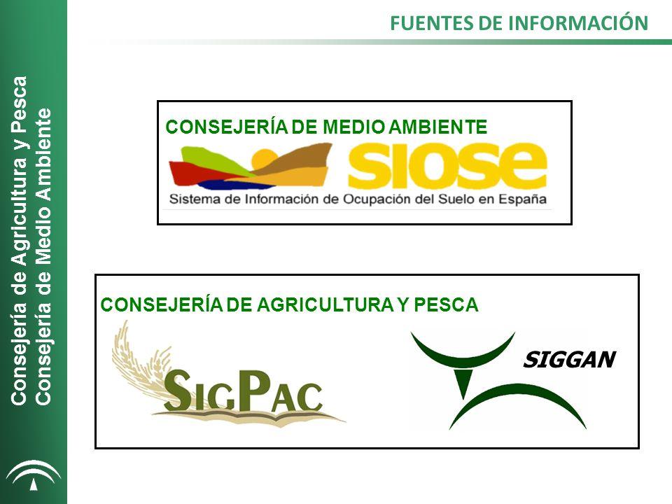CAPA DE MEDIO AMBIENTE Capa de formaciones adehesadas de la Consejería de Medio Ambiente.