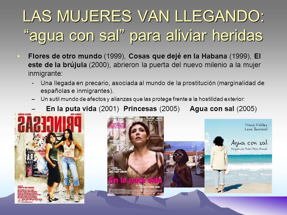 LAS MUJERES VAN LLEGANDO: agua con sal para aliviar heridas Flores de otro mundo (1999), Cosas que dejé en la Habana (1999), El este de la brújula (20