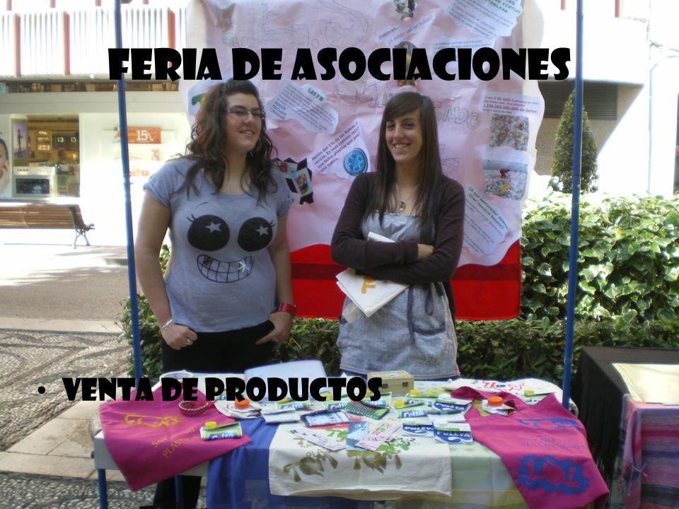 Feria de Asociaciones Venta de productos