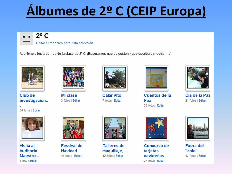 Álbumes de 2º C (CEIP Europa)