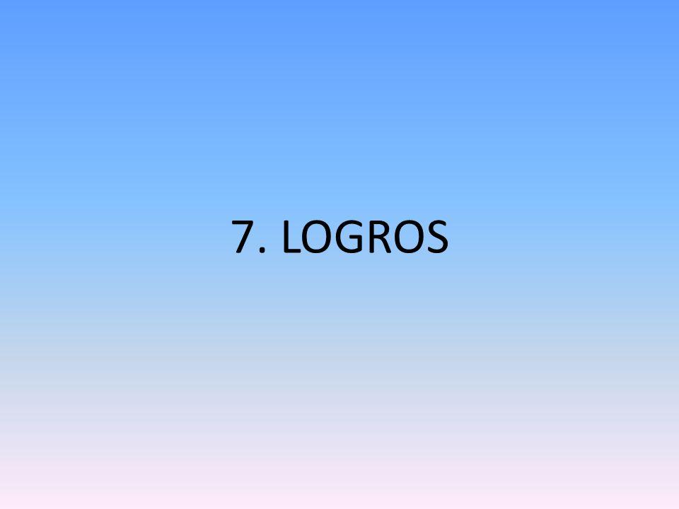 7. LOGROS