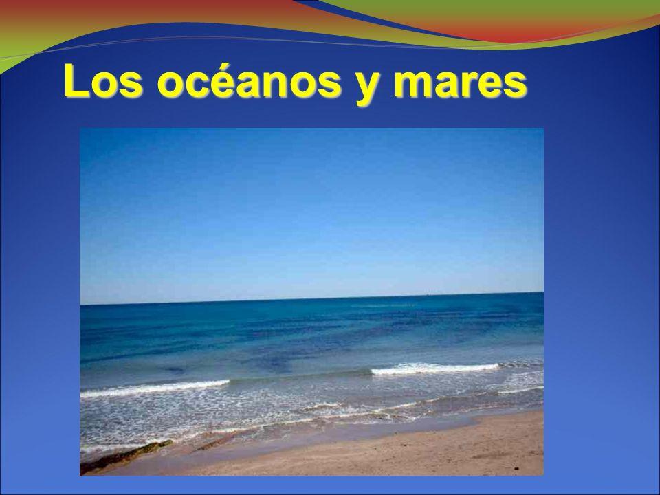 Los océanos y mares Los océanos y mares