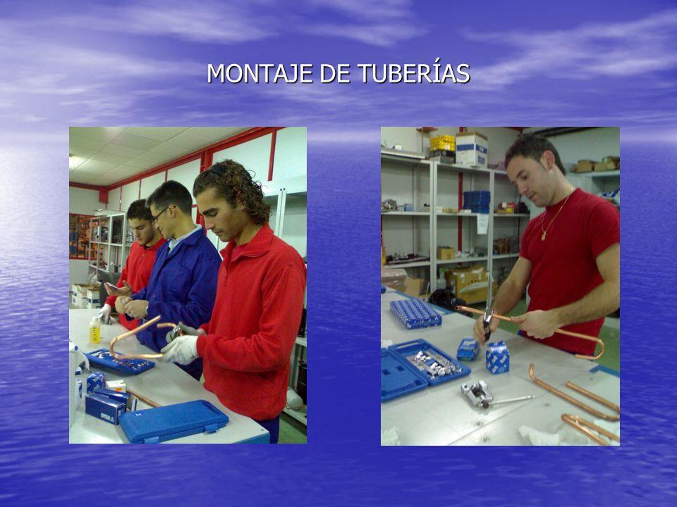 MONTAJE DE TUBERÍAS