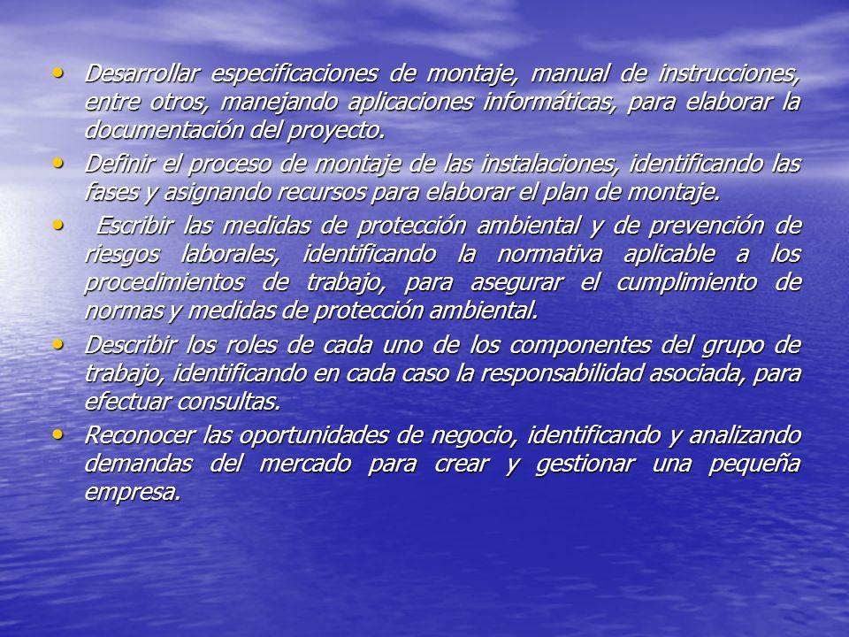 Las salidas profesionales de este ciclo son: AUTÓNOMO COMO PROYECTISTA PARA INSTALACIONES DE POTENCIA TÉRMICA MENOR DE 70 KW.