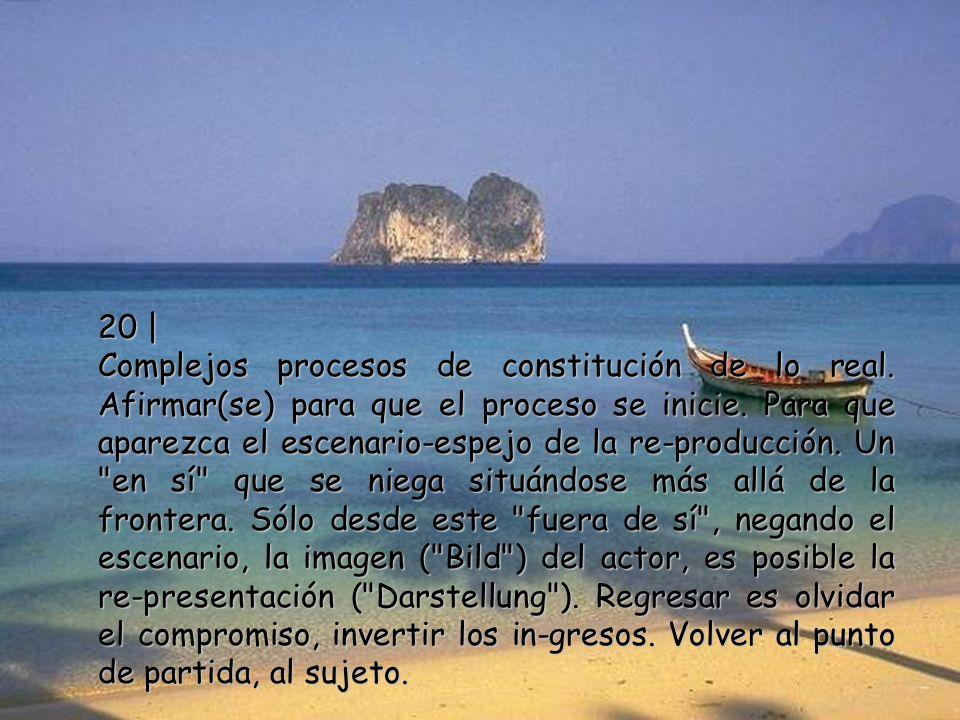 19 | Los filósofos no cuestionan la vigencia de su oficio y de sus productos, porque su discurso