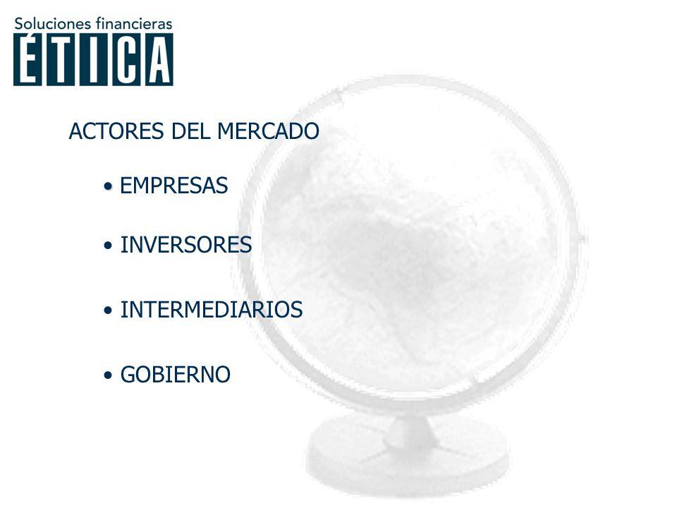 BOLSA: EMPRESA… DE SERVICIOS… FINANCIEROS. ¿ A QUIÉN(ES) PERTENECE