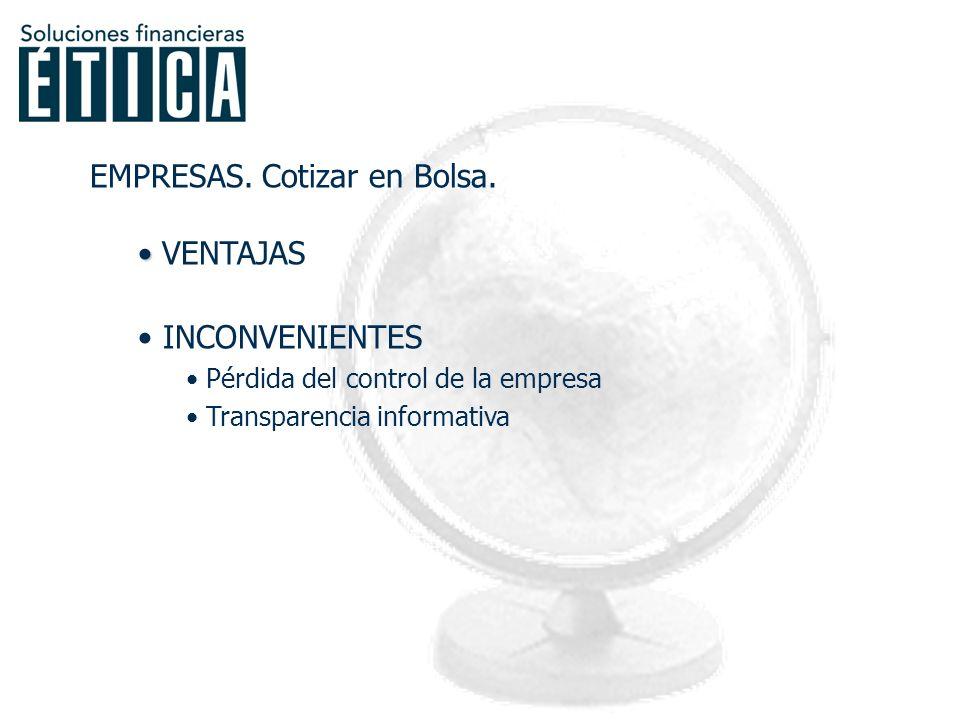 ACTORES DEL MERCADO EMPRESAS INVERSORES INTERMEDIARIOS GOBIERNO