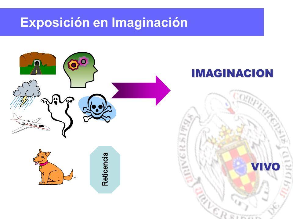 IMAGINACION VIVO Reticencia Exposición en Imaginación