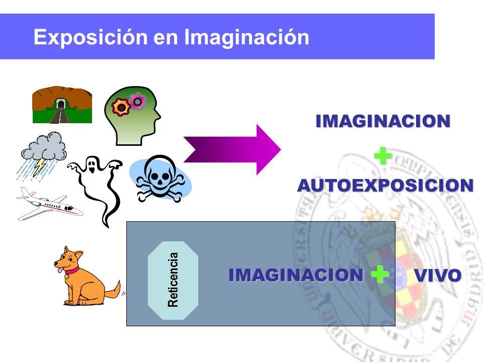 IMAGINACION + IMAGINACION VIVO Reticencia AUTOEXPOSICION AUTOEXPOSICION + Exposición en Imaginación