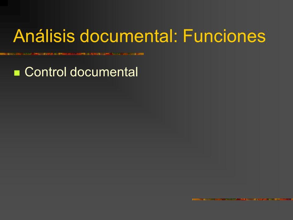 Análisis documental: Fases An á lisis.