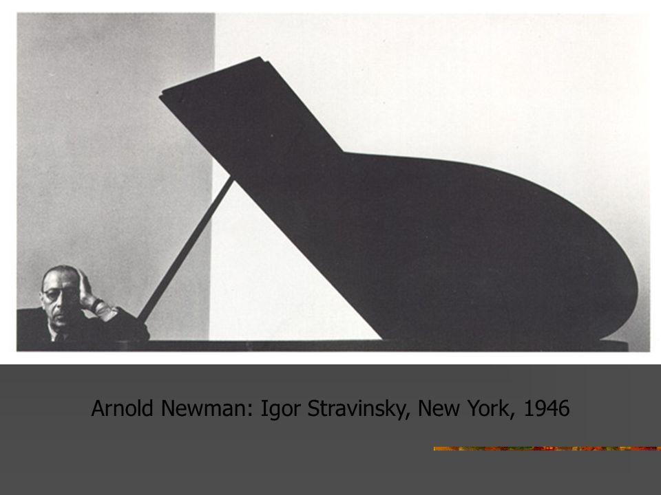 Arnold Newman: Igor Stravinsky, New York, 1946
