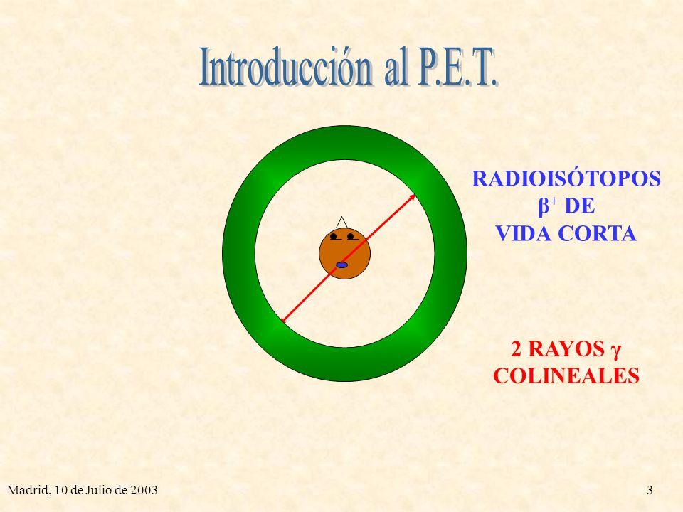 Madrid, 10 de Julio de 200323 φ (rad) x r (cm)