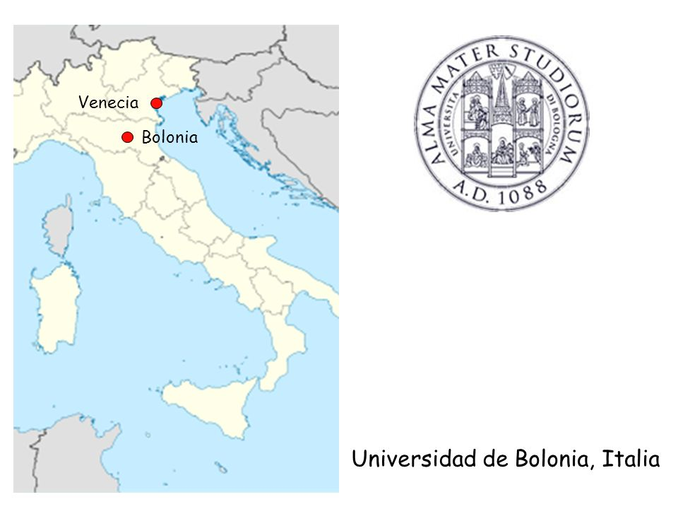Bolonia Venecia Universidad de Bolonia, Italia