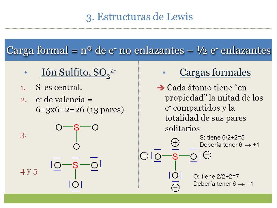 Enlaces múltiples: La estructura del CO 2 no cumple la regla del octeto, a no ser que… 5. 6. ¿Cómo es el CN - ? ¿Cómo es el CN - ? Ejemplos de estruct