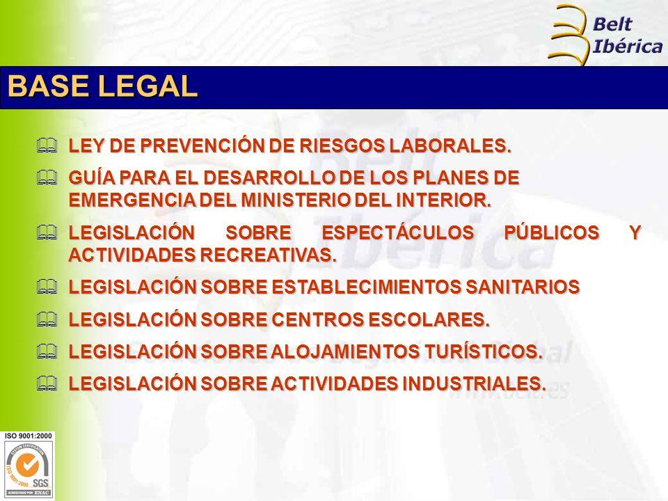 LEY DE PREVENCIÓN DE RIESGOS LABORALES. LEY DE PREVENCIÓN DE RIESGOS LABORALES.