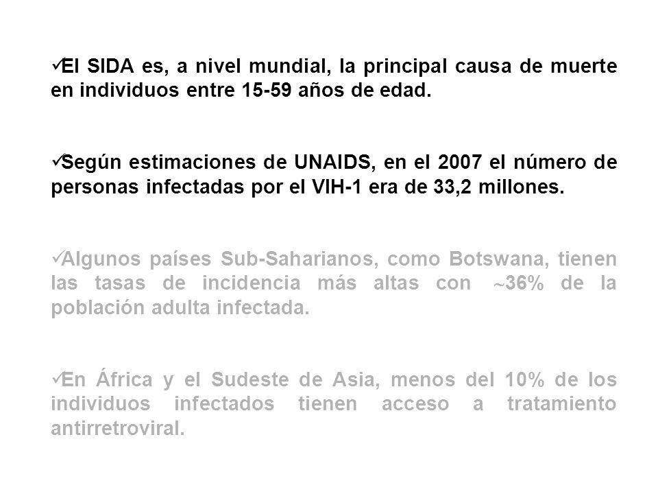Ensayo RV144 (Tailandia) Placebo: 8.198 individuos 74 infectados Vacunados:8.197 individuos 51 infectados Tasa de prevención:31%