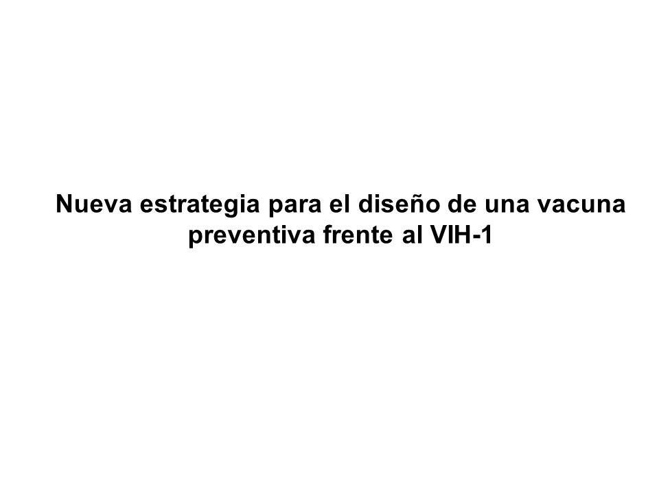 Nueva estrategia para el diseño de una vacuna preventiva frente al VIH-1