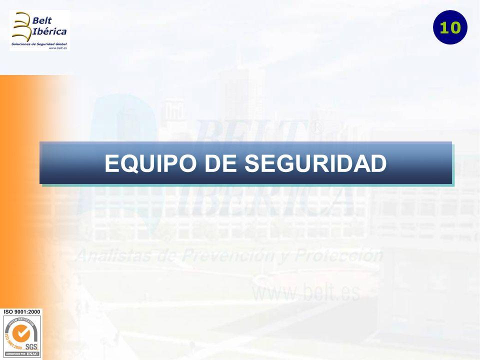 EQUIPO DE SEGURIDAD 10