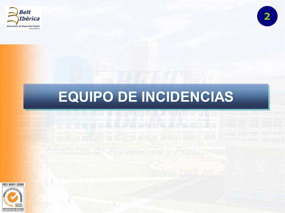 EQUIPO DE INCIDENCIAS 2