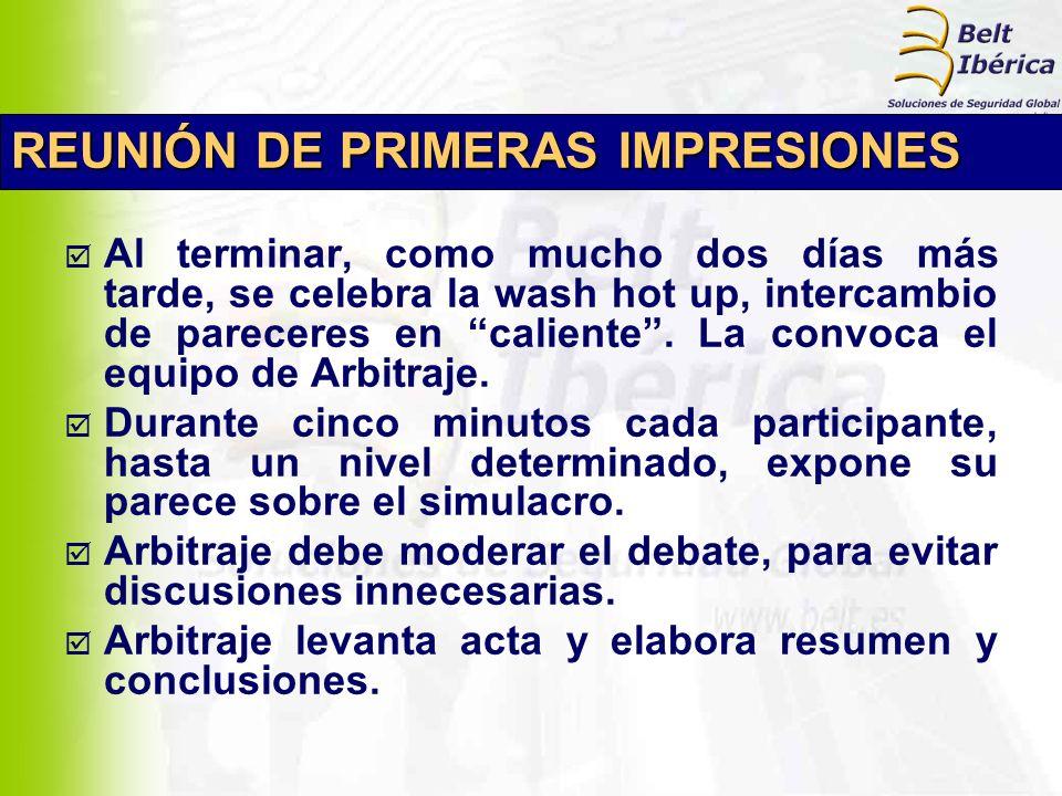 INFORMES DE SITUACIÓN (de cada participante) 1.