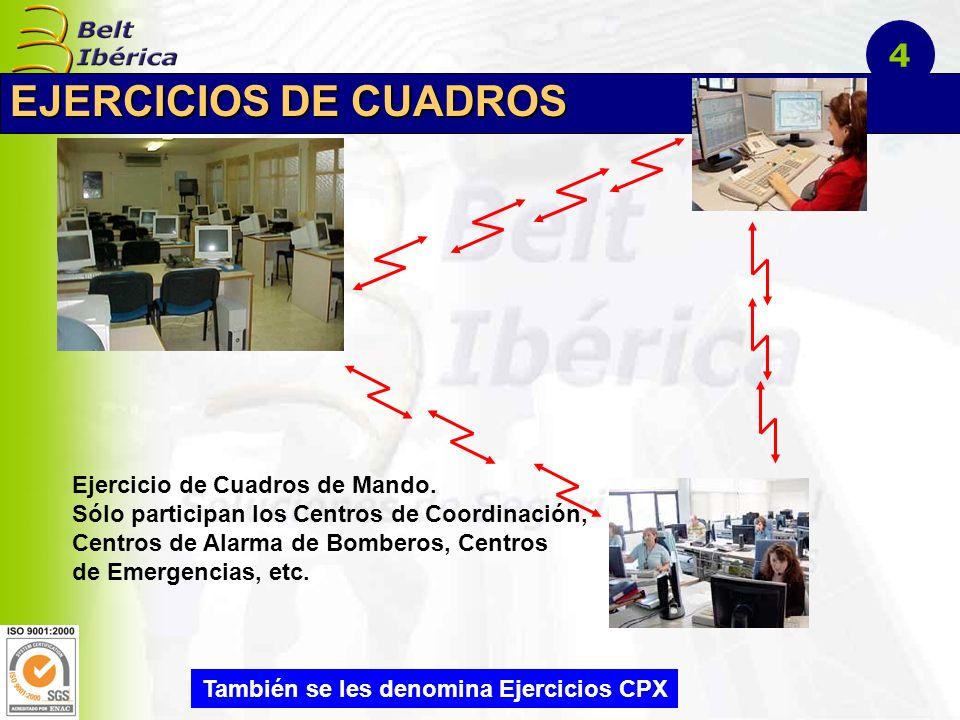 EJERCICIOS EN FUERZA Ejercicio en fuerza de Protección Civil Tierra-2000: Se produce un terremoto y se solicita la colaboración de las Fuerzas Armadas.