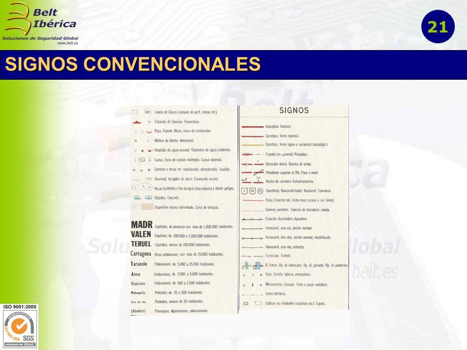 SIGNOS CONVENCIONALES 21
