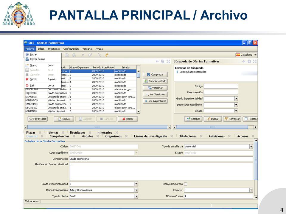 PANTALLA PRINCIPAL / Archivo 4