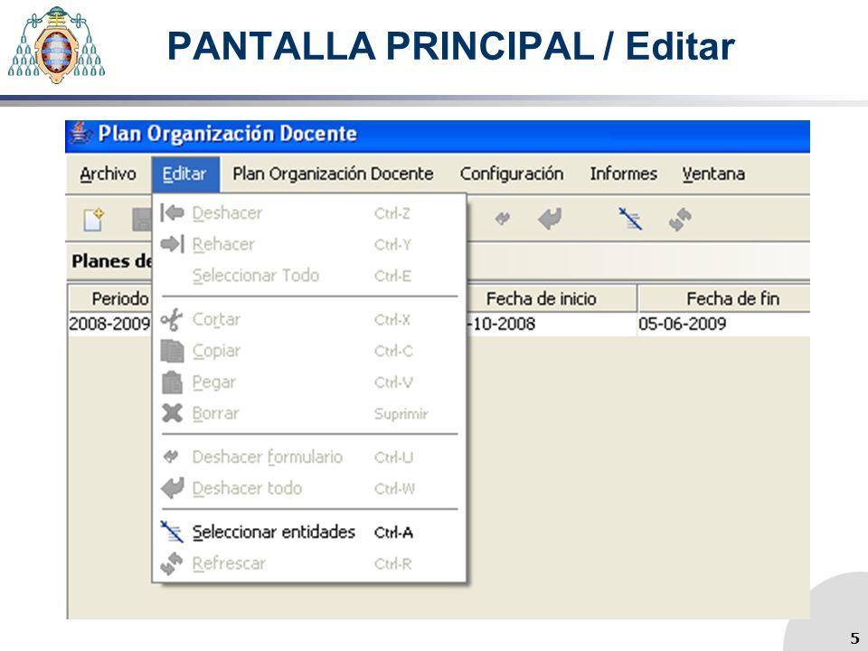 PLANIFICACIÓN ASIGNATURAS/ Pestaña Miembros del Tribunal 26