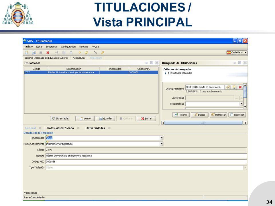 TITULACIONES / Vista PRINCIPAL 34