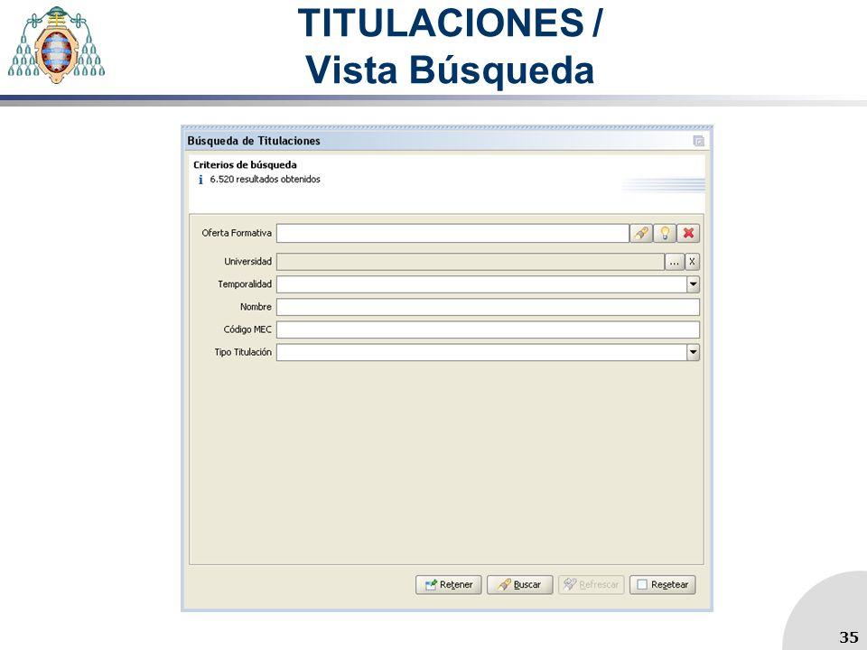 TITULACIONES / Vista Búsqueda 35