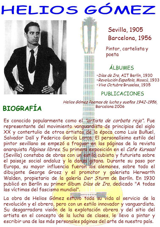 Sevilla, 1905 Barcelona, 1956 Pintor, cartelista y poeta BIOGRAFÍA Es conocido popularmente como el