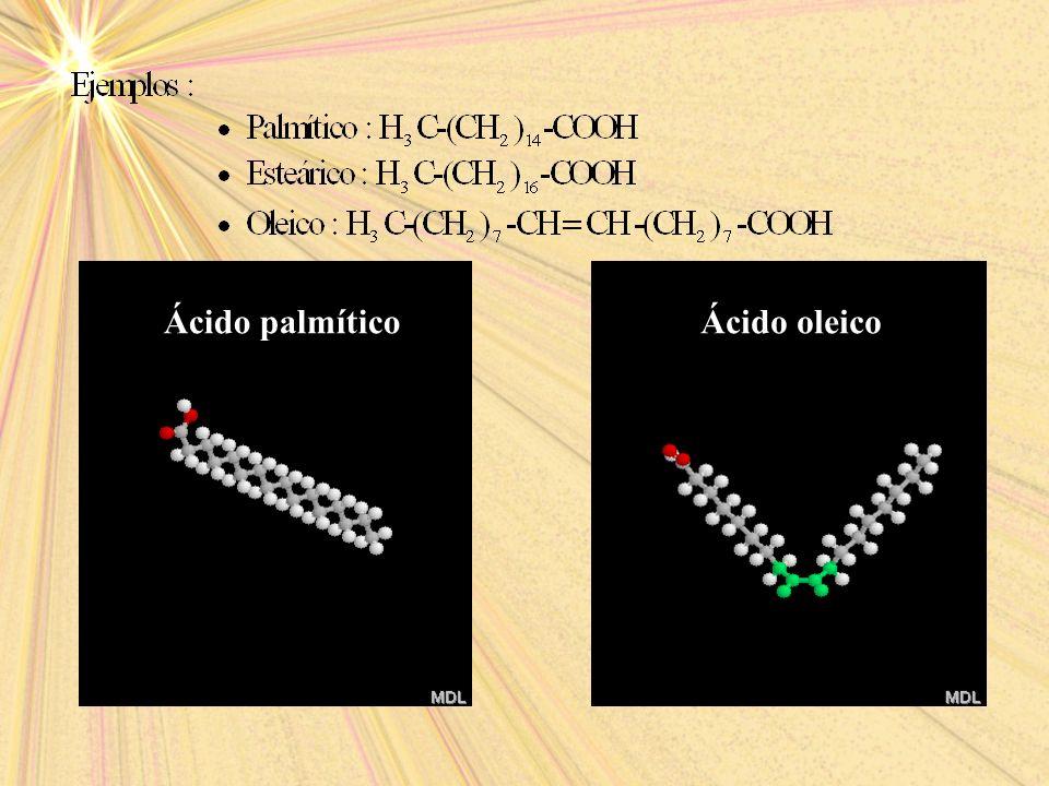 Ácido palmíticoÁcido oleico