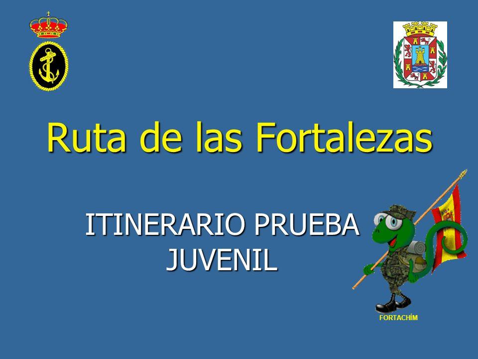 Ruta de las Fortalezas ITINERARIO PRUEBA JUVENIL FORTACHÍM
