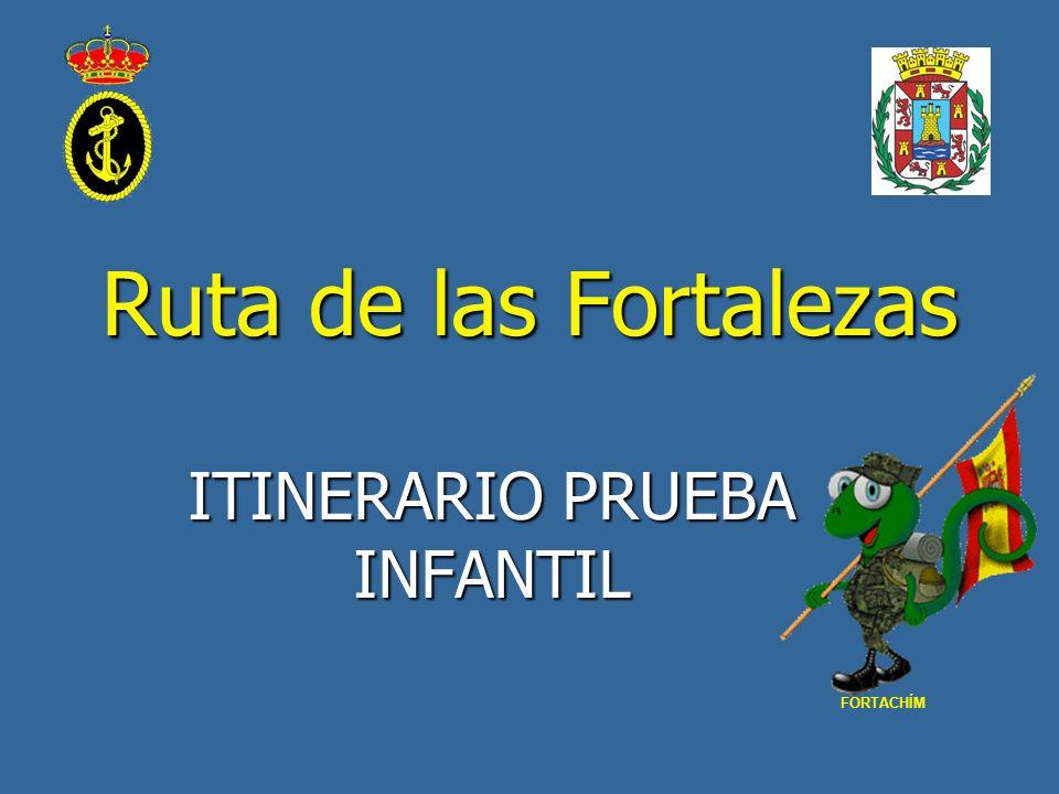 Ruta de las Fortalezas ITINERARIO PRUEBA INFANTIL FORTACHÍM